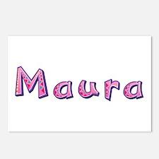 Maura Pink Giraffe Postcards 8 Pack