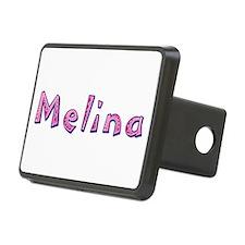 Melina Pink Giraffe Hitch Cover