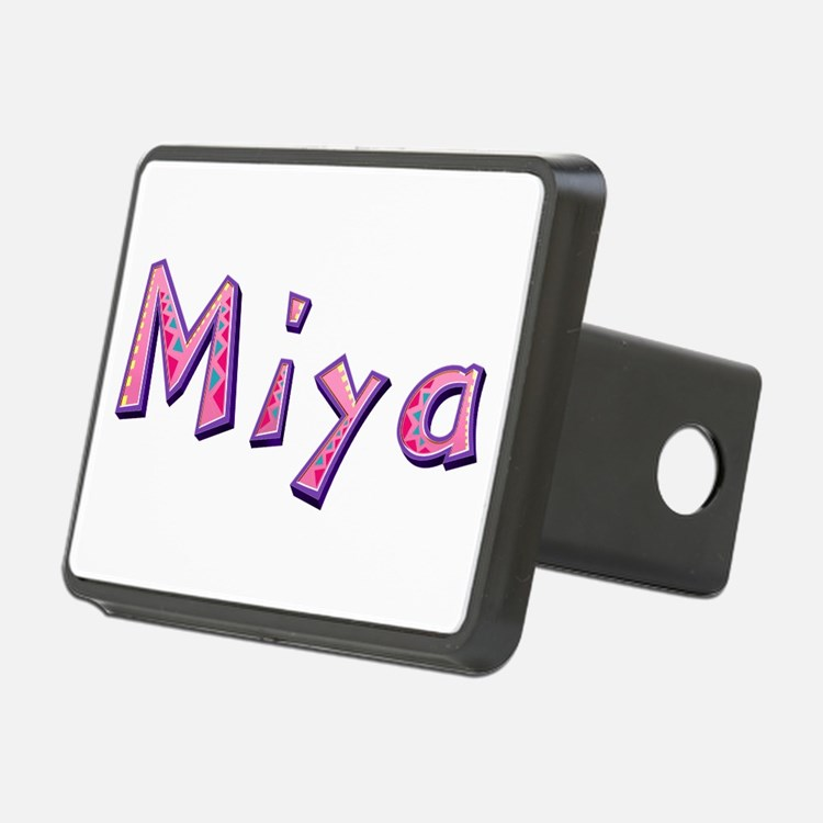 Miya Pink Giraffe Hitch Cover