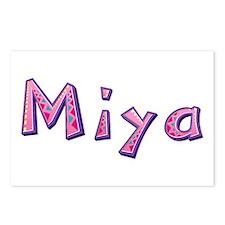 Miya Pink Giraffe Postcards 8 Pack