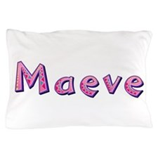 Maeve Pink Giraffe Pillow Case