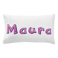 Maura Pink Giraffe Pillow Case