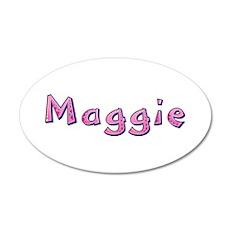 Maggie Pink Giraffe Wall Decal