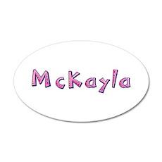 McKayla Pink Giraffe Wall Decal