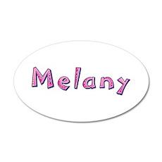 Melany Pink Giraffe Wall Decal