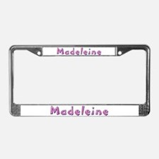 Madeleine Pink Giraffe License Plate Frame