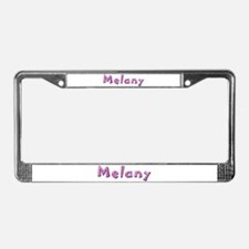 Melany Pink Giraffe License Plate Frame