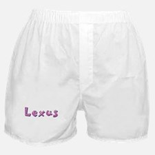 Lexus Pink Giraffe Boxer Shorts