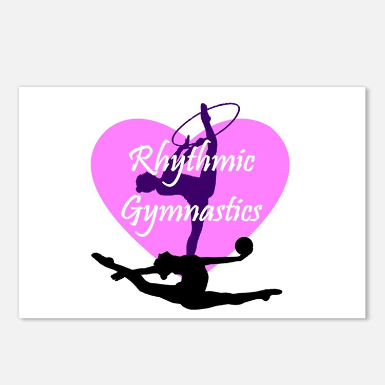 Rhythmic Gymnastics Postcards (Package of 8)