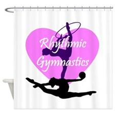 Rhythmic Gymnastics Shower Curtain