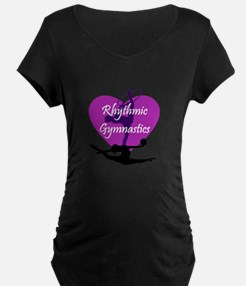 Rhythmic Gymnastics Maternity T-Shirt