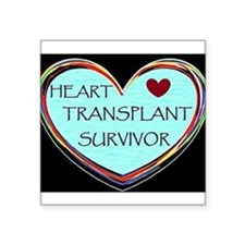 Heart Transplant Survivor Sticker