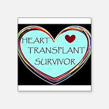 Heart Transplant Survivor Sticker