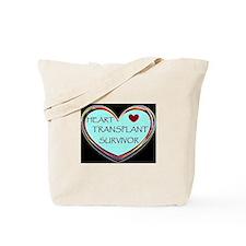 Heart Transplant Survivor Tote Bag