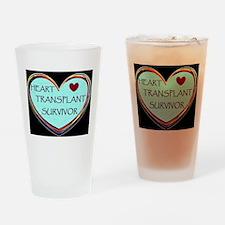 Heart Transplant Survivor Drinking Glass
