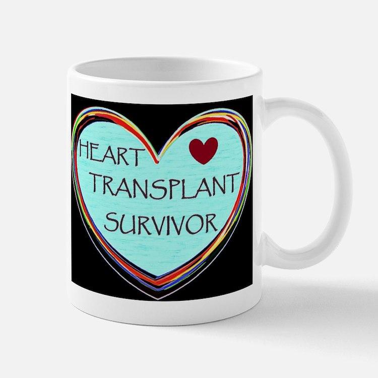 Heart Transplant Coffee Mugs | Heart Transplant Travel ...