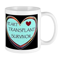 Heart Transplant Survivor Mugs