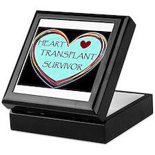 Heart Transplant Survivor Keepsake Box