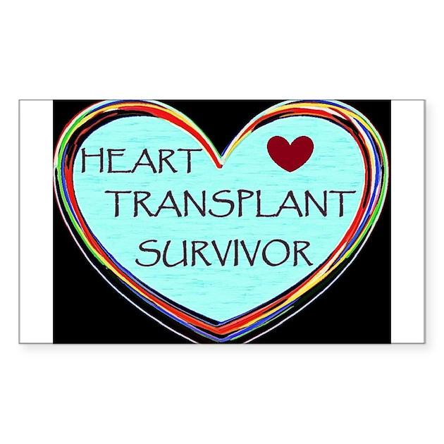 Heart Transplant Survivor Decal by ClariceLakota