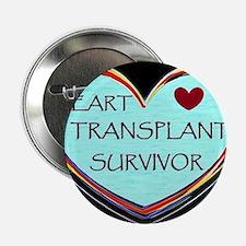"Heart Transplant Survivor 2.25"" Button"