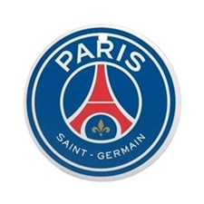 Paris Saint Germain Round Ornament