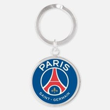 Paris Saint Germain Round Keychain