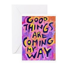 Good Things Greeting Cards (Pk Of 10) Greeting Car