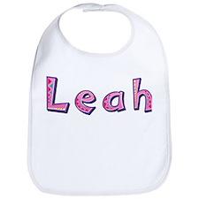Leah Pink Giraffe Bib