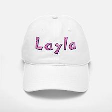 Layla Pink Giraffe Baseball Baseball Baseball Cap