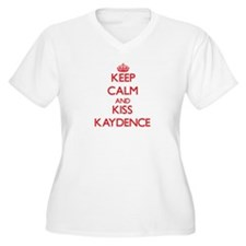 Keep Calm and Kiss Kaydence Plus Size T-Shirt