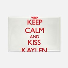 Keep Calm and Kiss Kaylen Magnets