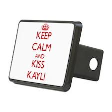 Keep Calm and Kiss Kayli Hitch Cover