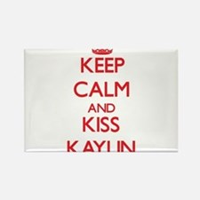 Keep Calm and Kiss Kaylin Magnets