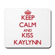Keep Calm and Kiss Kaylynn Mousepad