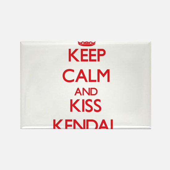 Keep Calm and Kiss Kendal Magnets