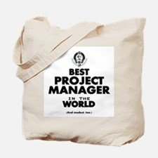 Best Project Manager in the World Tote Bag