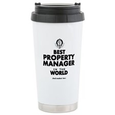 Best Property Manager in the World Travel Mug