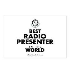 Best Radio Presenter in the World Postcards (Packa
