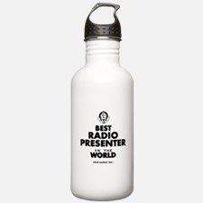 Best Radio Presenter in the World Water Bottle