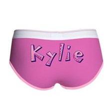 Kylie Pink Giraffe Women's Boy Brief