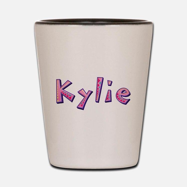 Kylie Pink Giraffe Shot Glass