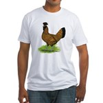 Gold Brabanter Hen Fitted T-Shirt