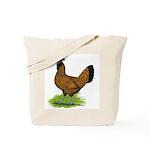 Gold Brabanter Hen Tote Bag