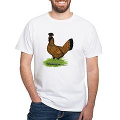 Gold Brabanter Hen White T-Shirt