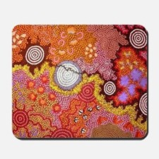 AUSTRALIAN ABORIGINAL ART Mousepad