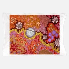 AUSTRALIAN ABORIGINAL ART Pillow Case