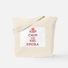 Keep Calm and Kiss Kimora Tote Bag