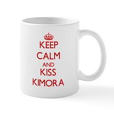 Keep Calm and Kiss Kimora Mugs