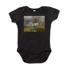 Clearing the Fence on the Hunt Baby Bodysuit