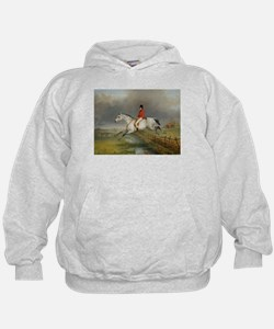 Clearing the Fence on the Hunt Hoodie